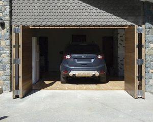 porte de garage pliante